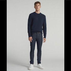 NWT Rag & Bone Men's Size 34 Indigo Rinse Jeans